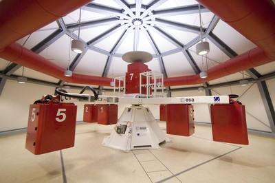 Large Diameter Centrifuge (LDC) in ESTEC. / Credits: ESA