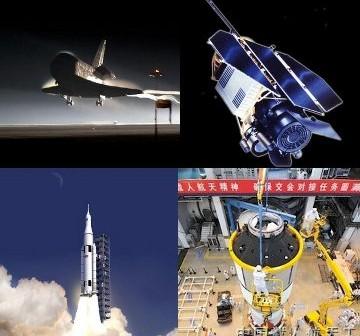 Jedne z najważniejszych symboli roku 2011 w astronautyce / Credits - NASA, DLR, CNSA