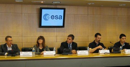 Uczestnicy Mars 500 (po prawej) / Credits - K. Kanawka
