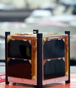 Jeden z siedmiu Cubesatów/ Credits - ESA