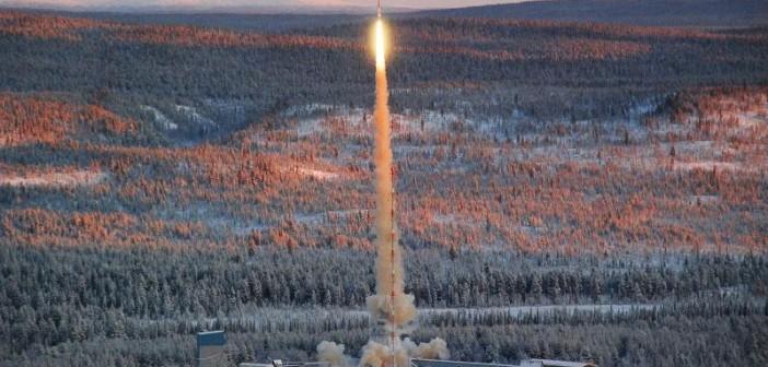 Start rakiety Texus 48 / Credits: DLR