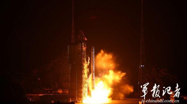 Start rakiety Długi Marsz 3A z satelitą IGSO-5 konstelacji BeiDou-2 / Credits: jz.chinamil.com.cn