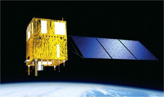 Wizja artystyczna satelity Zi Yuan-1 (2C)