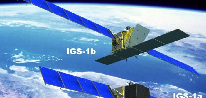 Satelity typu IGS / Credits: Ministerstwo obrony Japonii