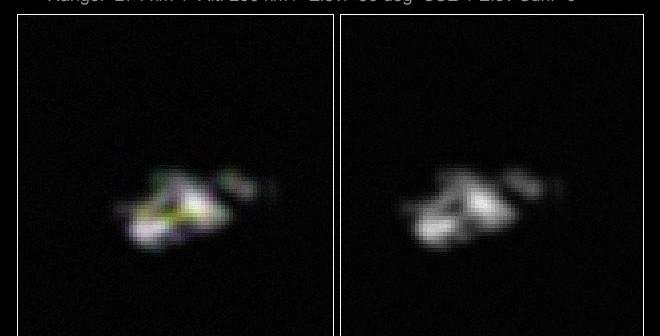 Zdjęcie satelity Fobos-Grunt wykonane z Ziemi / Credits: Ralf Vandenbergh