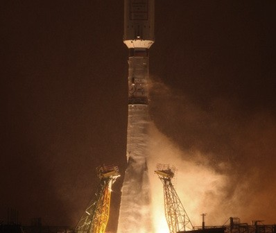 Start rakiety Sojuz z satelitami Globalstar / Credits: Arianespace