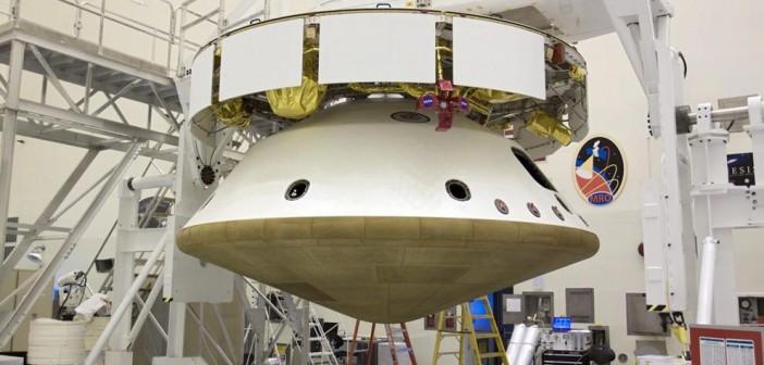 Sonda MSL w konfiguracji do lotu / Credits: NASA