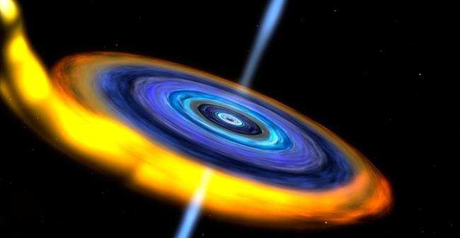 Artystyczna wizja czarnej dziury