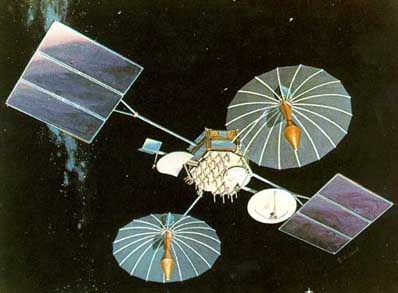 Satelita serii TDRS / Credits: NASA