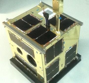 Zintegrowany satelita BRITE-PL Lem / Credits - CBK PAN