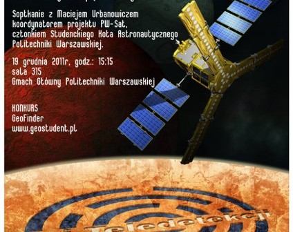 Plakat promujący Dzień Teledetekcji / Credits: SKA