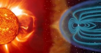 Źródło istnienia pogody kosmiczej - aktywność słoneczna / Credits: NASA-ESA