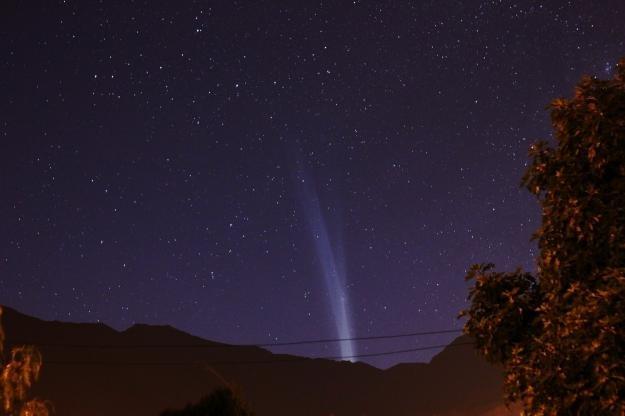 Kometa Lovejoy z Chile - 22 grudnia 2011 / Credits - Emilio Lepeley
