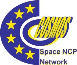 Logo sieci COSMOS krajowych punktów kontaktowych ds. programów badawczych UE / Credits: COSMOS