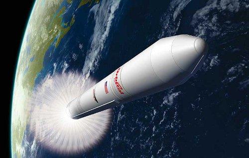 Rakieta Antares w drodze na orbitę / Credits - Orbital