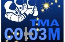 Naszywka misji Sojuz TMA-03M / Credits - RSA, NASA, ESA