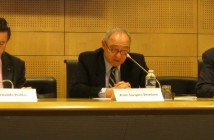 Jean-Jacques Dordain explains ESA's goals for 2012. Picture from 9th of January 2012 / Credits - K. Kanawka, kosmonauta.net