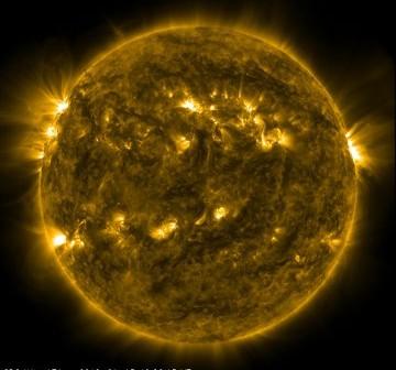 Aktualny widok Słońca - 15 stycznia, godzina 11:26 CET / Credits - NASA, SDO