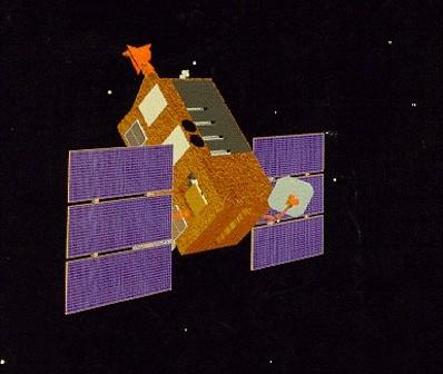 Rossi XTE / Credits: NASA
