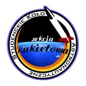 Logo Sekcji Rakietowej Studenckiego Koła Astronautycznego/Credits: SR SKA