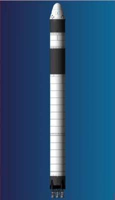 Rakieta Falcon 9 ze statkiem Dragon / Credits: SpaceX