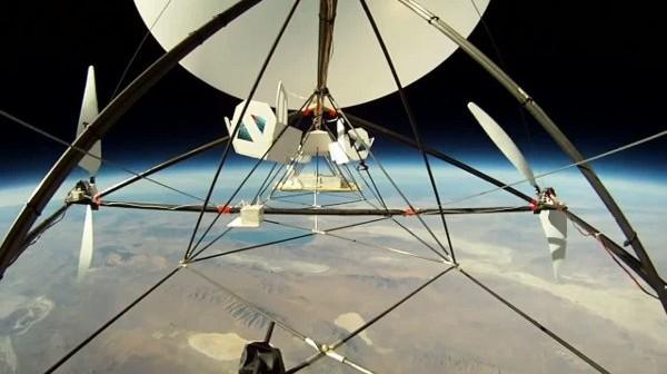Test konstrukcji Tandem - 22 października 2011 / Credits - JP Aerospace