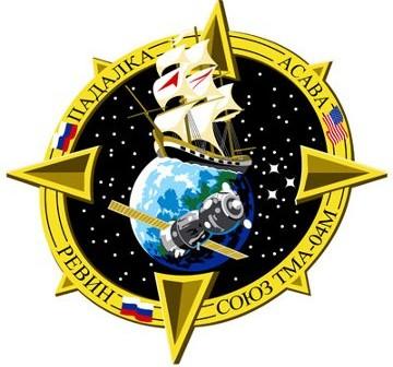 Logo misji Sojuz TMA-04M / Credits - RSA