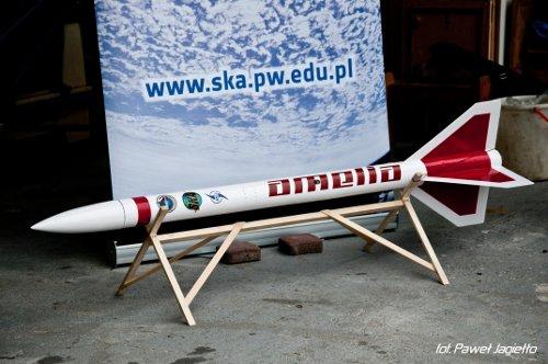 Amelia - rakieta studentów z Politechniki Warszawskiej / Credits: Paweł Jagiełło