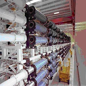 Łańcuch wzmacniaczy lasera Shiva / Credits: Wikipedia