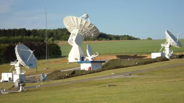Stacja naziemna ESA w Redu (Belgia) / Credits: ESA