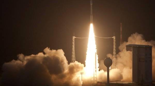 Dziewiczy lot Vegi, 13 lutego 2012 / Credits: ESA