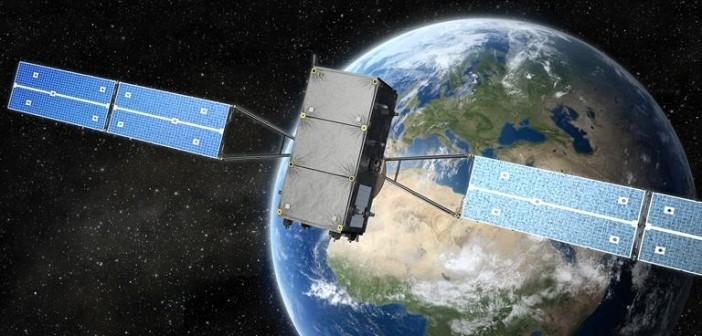 Galileo satellite- visualization / Credits: OHB