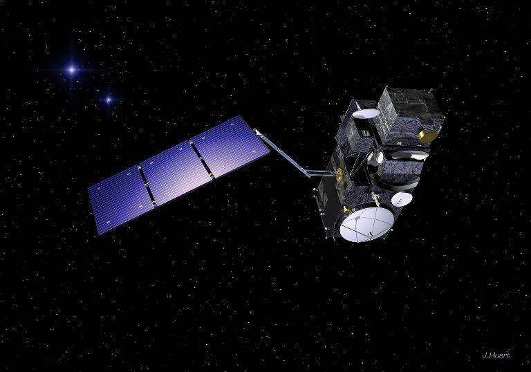 Satelita Sentinel-3 / Credits: ESA