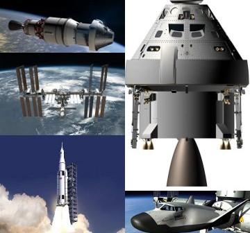 Programy załogowe/eksploracyjne NASA i komercyjne - 'wygrani' propozycji budżetu na rok fiskalny 2013 / Credits - NASA