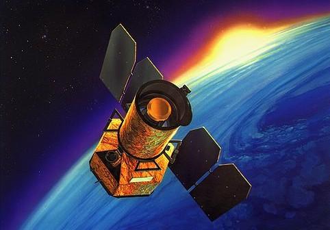 GALEX - wizualizacja / Credits: NASA