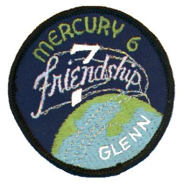 Patch misji Mercury-Atlas 6 (NASA)