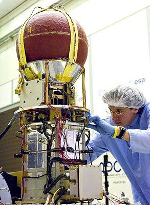 Model lotny satelity YES-2/Credits: ESA