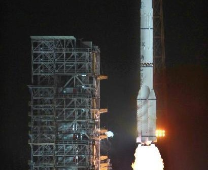 Start rakiety CZ-3C - 24.02.2012 / Credits - news.cn