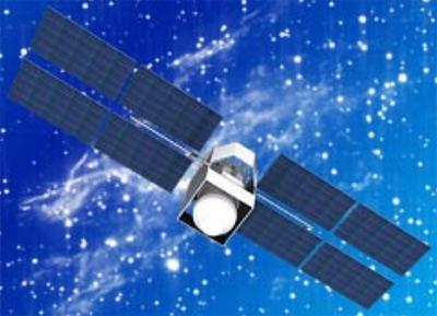 Satelita typu Meridian - wizualizacja / Credits: NPO PM