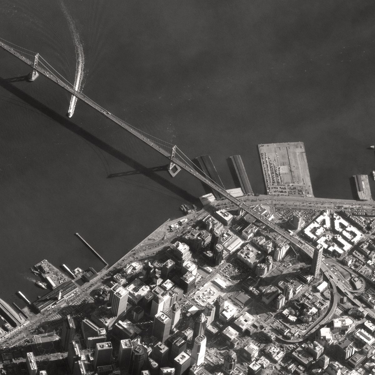 Zdjęcie San Francisco wykonane przez satelitę Pleiades-1 / Credits: CNES