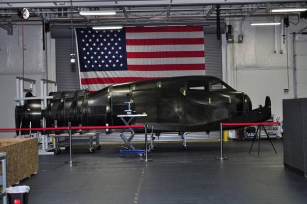 Egzemplarz testowy statku Dream Chaser w zakładzie firmy SNC w Louisville (Kolorado) / Credits: Sierra Nevada Corp.