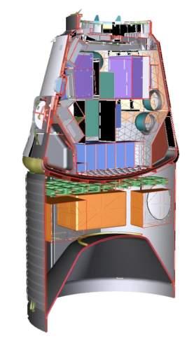 Statek kosmiczny Dragon – wersja Cargo / Credits: SpaceX