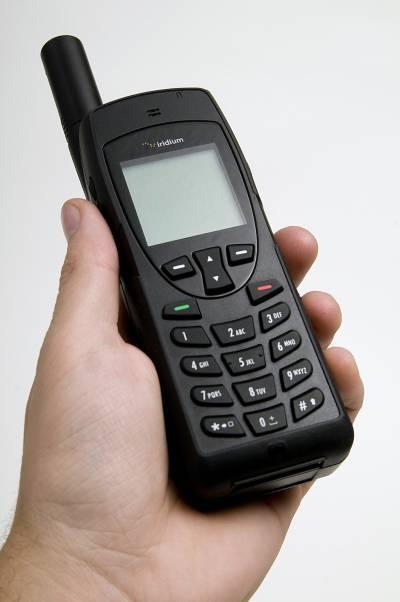 Telefon satelitarny Iridium 9555 / Credits: TS2