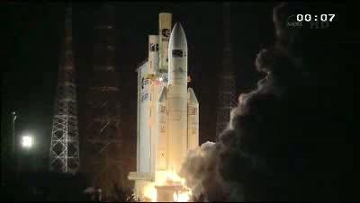 Start ATV-3 Edoardo Amaldi / Credtis: ESA, Ronsmytheiii