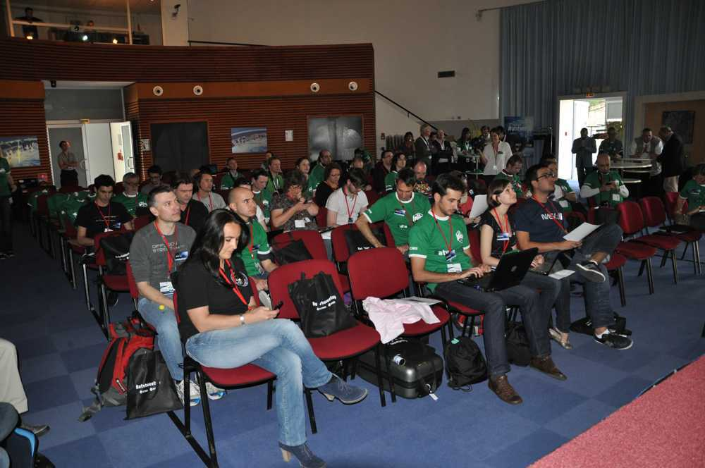 Uczestnicy programu ESA/CNES ATVtweetup/Credits: Jarosław Jaworski