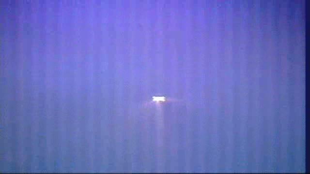 Widok z godziny 21:49 CEST - ATV-3 manewruje / Credits - NASA TV