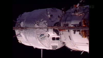Ostatnie chwile przed cumowaniem / Credits - NASA TV