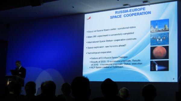 Rosyjski program kosmiczny i współpraca z Europą / Credits - K. Kanawka