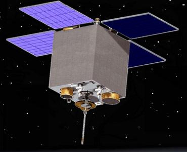 Wyniesiony w 2011 roku satelita obserwacyjny Sich-2/Credits: NSAU