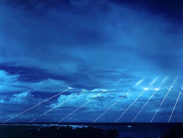 Testy rakiet na Atolu Kwajalein na Wyspach Marshalla / Credits: Armia USA